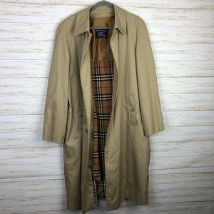 Burberry Vintage Trench Coat Wool Vest Lining